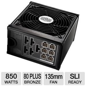 Cooler Master Silent Pro M 850W Power Supply