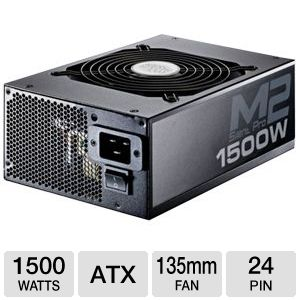 CoolerMaster Silent Pro M2 1500W Power Supply