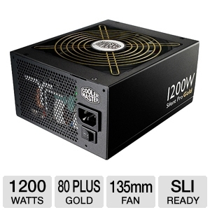 Cooler Master Silent Pro Gold 1200W Power Supply