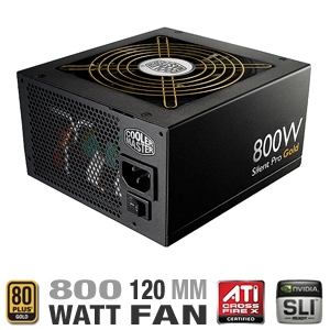 Cooler Master Silent Pro Gold 800W Power Supply