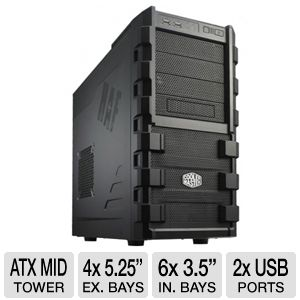 Cooler Master HAF 912 Mid-Tower Computer Case