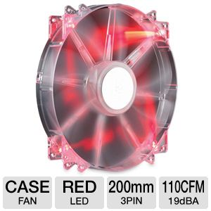 Cooler Master 200mm Red LED Case Fan
