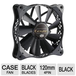 Cooler Master R4-EXBB-20PK-R0 Excalibur Case Fan