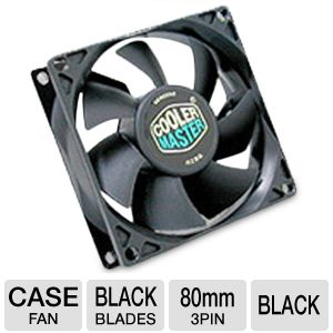 Cooler Master 80mm Standard Case Fan