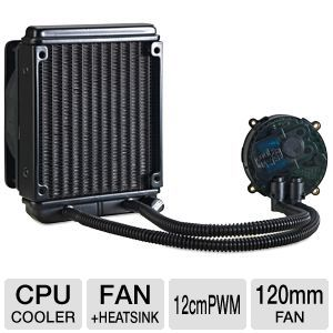 Cooler Master Seidon 120M CPU Water Liquid Cooler Radiator