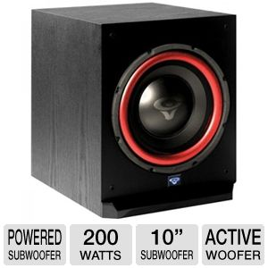 "Cerwin Vega CMX-10S-NA CMX Series 10"" Powered Subw"
