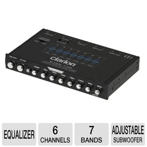 Clarion EQS746 Graphic Equalizer/Crossover