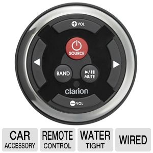 Clarion MW2 Watertight Marine Wired Remote Control