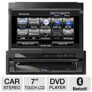 Clarion VZ401 DVD Mulitmedia Control Station 