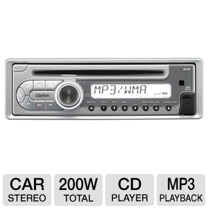 Clarion M109 Marine CD/MP3 Receiver
