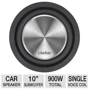 Clarion WF2510 Car Stereo Subwoofer