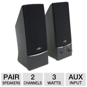 Cyber Acoustics CA-2014 Desktop Speakers