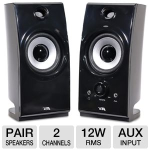 Cyber Acoustics CA-2022RB Stereo Speakers