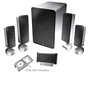 Cyber Acoustics CA-5648 Platinum Speaker System
