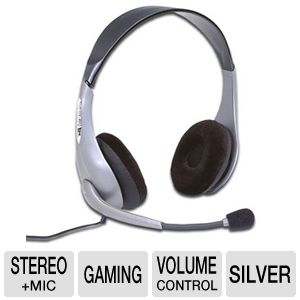 Cyber Acoustics Stereo Headset and  Mic