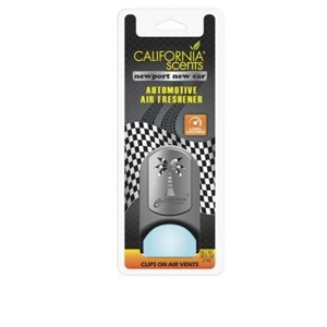 California Scents VCP-644TR Newport New Car Clip