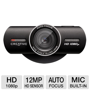 Creative Labs 73VF068000000 Live! Cam HD Webcam