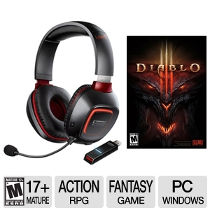 Creative Sound Blaster Wrath Gaming Headset Bundle