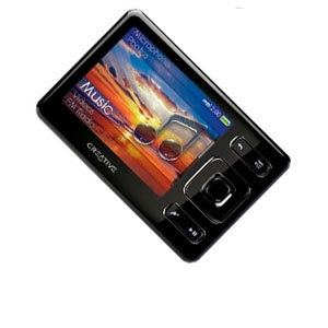 Creative ZEN4GBBK Zen 4GB 2.5&quot; LCD MP3 Player (OB)