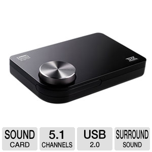 Creative Labs SB X-Fi Surround 5.1 Pro USB