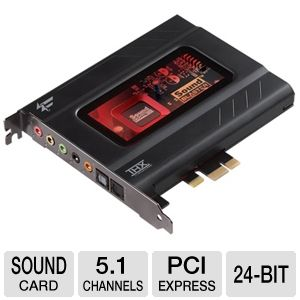 Creative Labs Recon3D Fatal1ty Sound Card