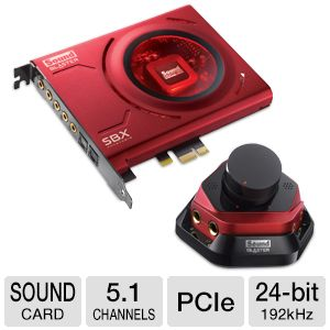 Creative Labs Sound Blaster Zx Sound Card
