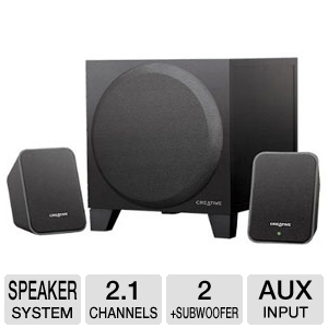 Creative 51MF0385AA003 Inspire S2 2.1 Speakers