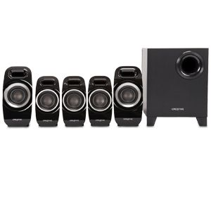 Creative Inspire T6300 - speaker system - For PC