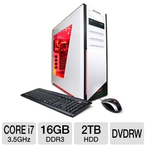 CyberPowerPC Gamer Zeus Core i7 Gaming PC
