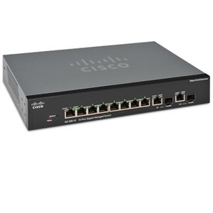 Cisco SRW2008-K9-NA SG300-10 Managed Gigabit Switc
