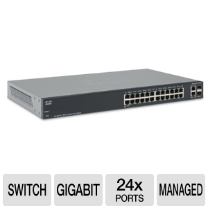 Cisco Small Business SG200-26 Managed Switch