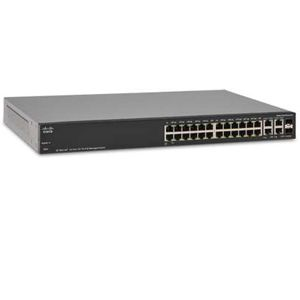 Cisco SF 300-24P 24-port Port 10/1000 Switch w/PoE