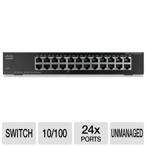 Cisco 24-Port 10/100 Switch