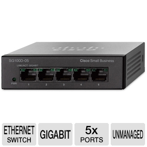 Cisco 5-Port Gigabit Desktop Switch
