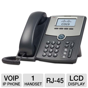 Cisco 1-Line IP Phone with 2-Port Gigabit Ethernet