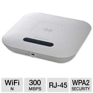 Cisco Wireless-N Access Point with PoE
