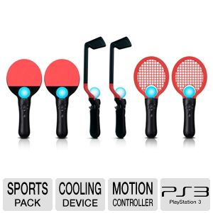 CTA Digital PS Move 6-n-1 Competition Sports Pack