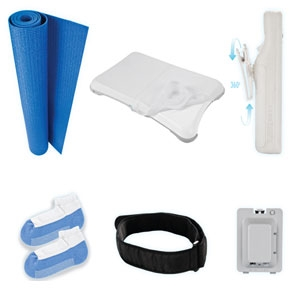 CTA Digital WI-6WF Wii Fit 6-in-1 Kit