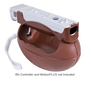 CTA WI-SFOOT Nintendo Wii Soft Football Accessory