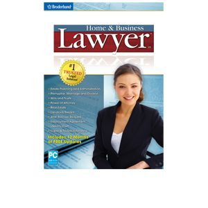 Broderbund Home and Business Lawyer 4