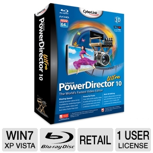 CyberLink PowerDirector 10 Ultra Software