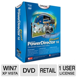 CyberLink PowerDirector 10 Deluxe Software