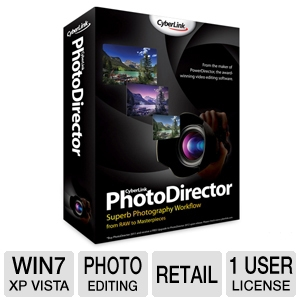 CyberLink PhotoDirector 2011 Software