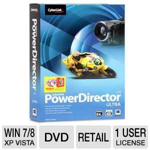 CyberLink PowerDirector 11 Ultra Software