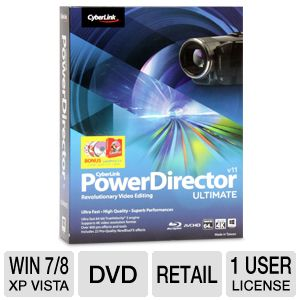 CyberLink PowerDirector 11 Ultimate Software
