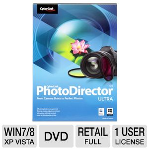CyberLink PhotoDirector 4 Ultra Software 