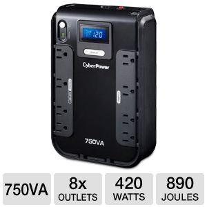CyberPower Intelligent UPS 700VA 420W