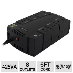 CyberPower Standby Series 425VA 8 Outlet UPS