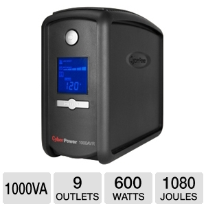 CyberPower CP1000AVRLCD UPS Battery Backup