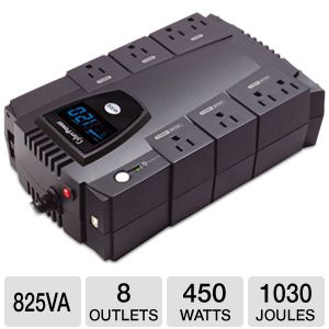 CyberPower CP825LCD UPS Battery Backup